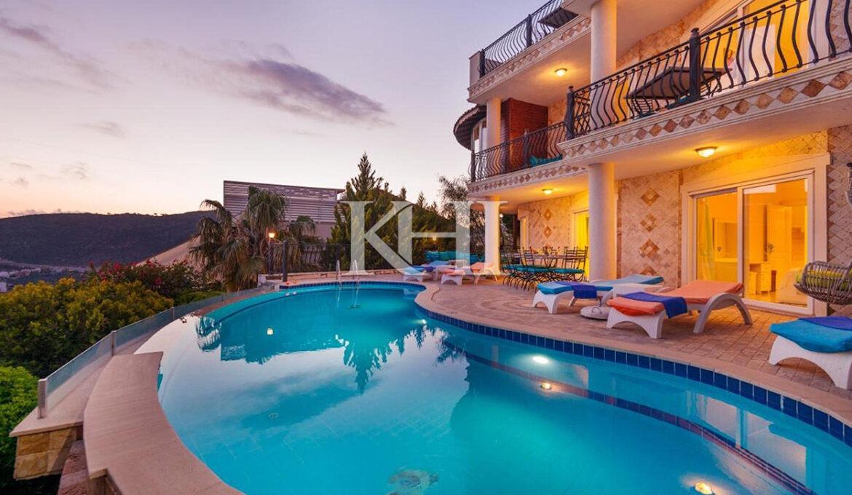 Spacious Villa For Sale In Kalkan
