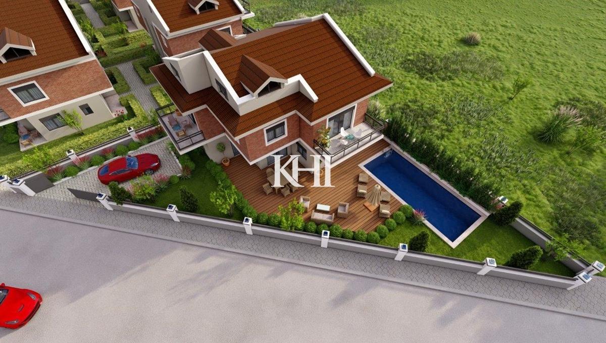 Semi-Detached New Villas in Akarca
