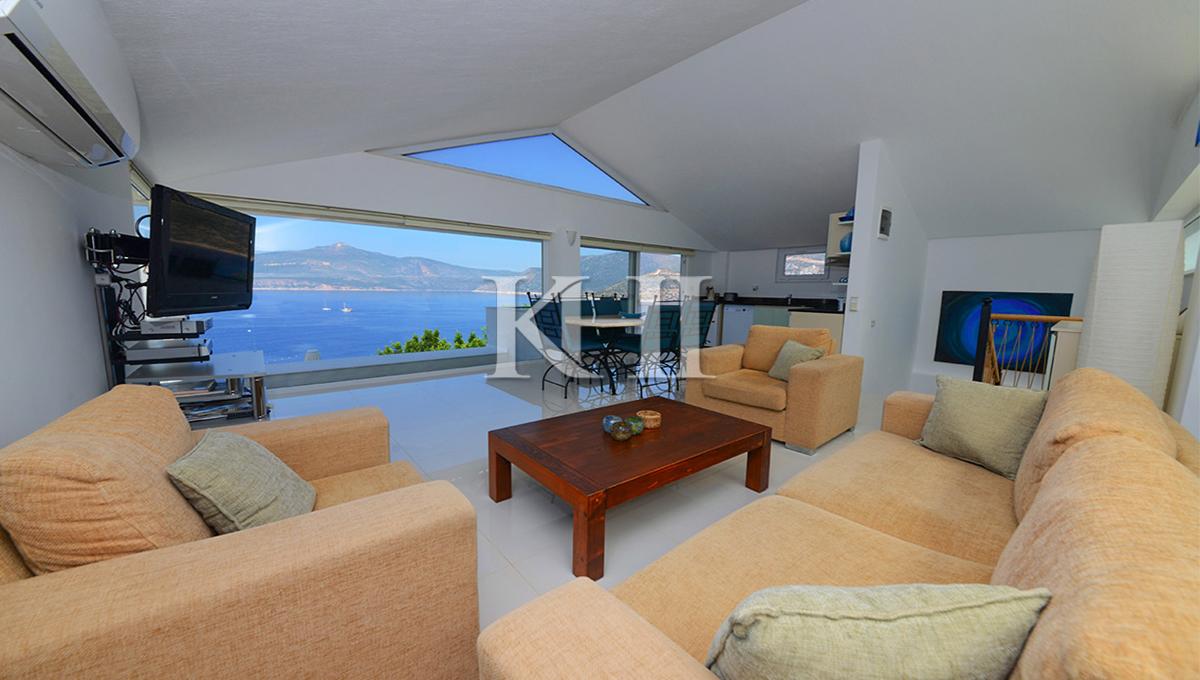 Contemporary Villa For Sale in Kisla, Kalkan