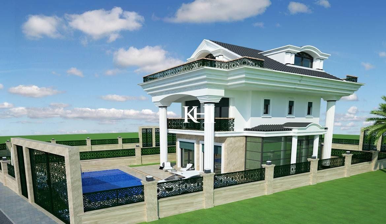 Six-Bedroom New Villa For Sale in Calis