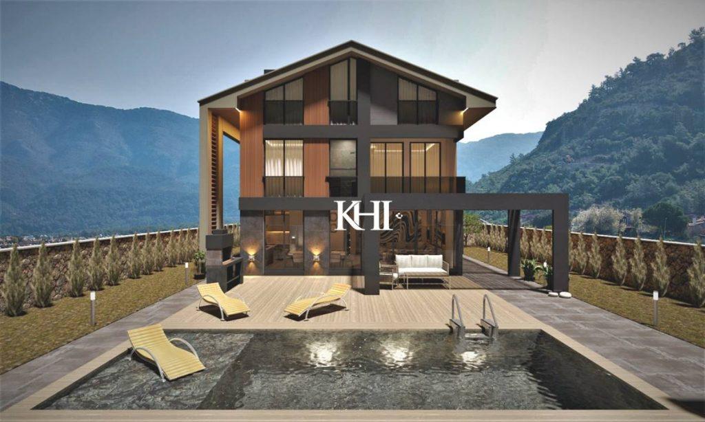 Luxury villas with indoor pool